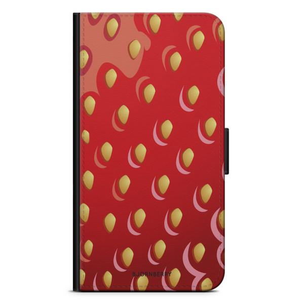 Bjornberry Xiaomi Mi Note 10 Lite Fodral - Jordgubbe