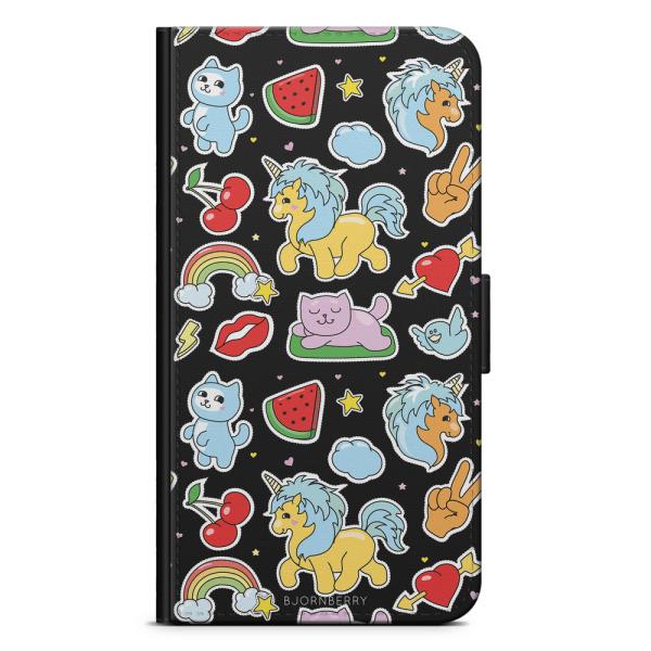 Bjornberry Xiaomi Mi Note 10 Lite Fodral - Klistermärken