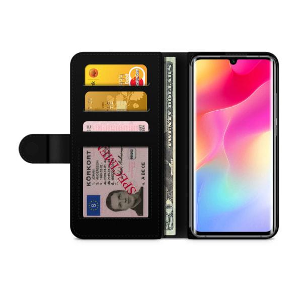 Bjornberry Xiaomi Mi Note 10 Lite Fodral - Lila Marmor
