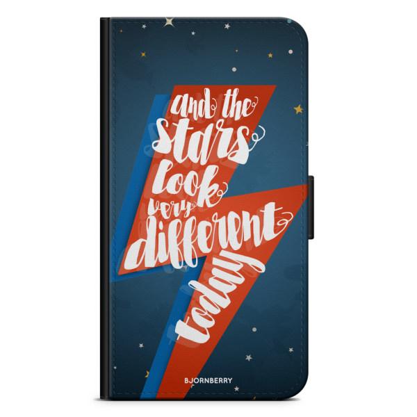 Bjornberry Xiaomi Redmi Note 9 Fodral - Bowie text