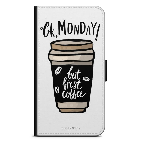 Bjornberry Xiaomi Redmi Note 9 Fodral - But First Coffee