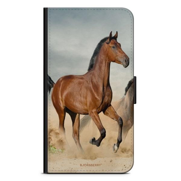Bjornberry Xiaomi Redmi Note 9 Fodral - Häst Stegrar