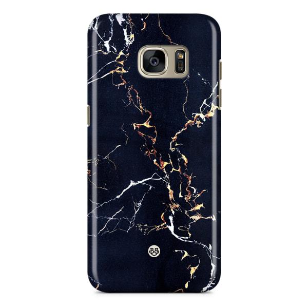 Samsung Galaxy S7 Edge Premium Skal - Blue Marble