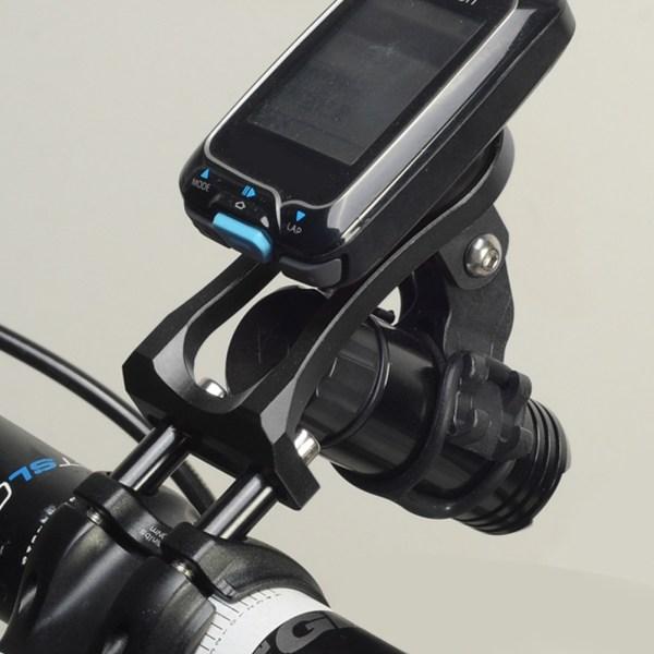 3 in 1 Bicycle Mount Holder Headlight Clamp Bike Handlebar E