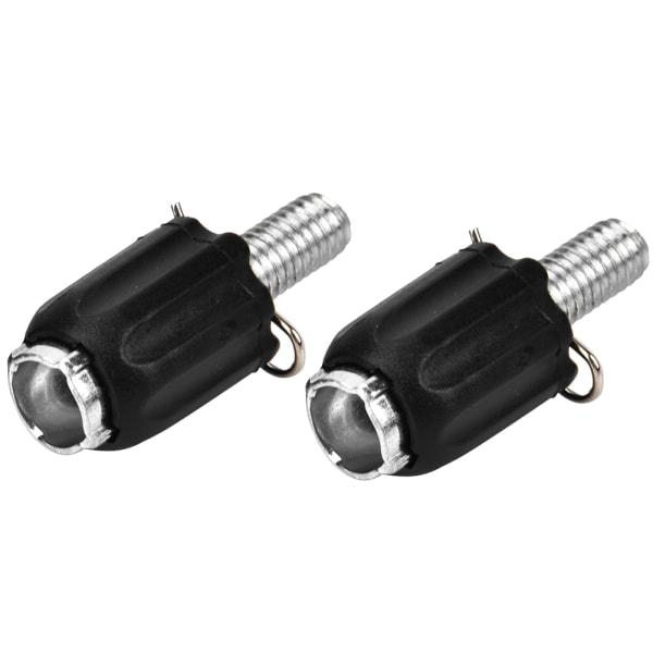 3 Pair M5 Bike Transmission Adjustable Screw Thumb Shifter D