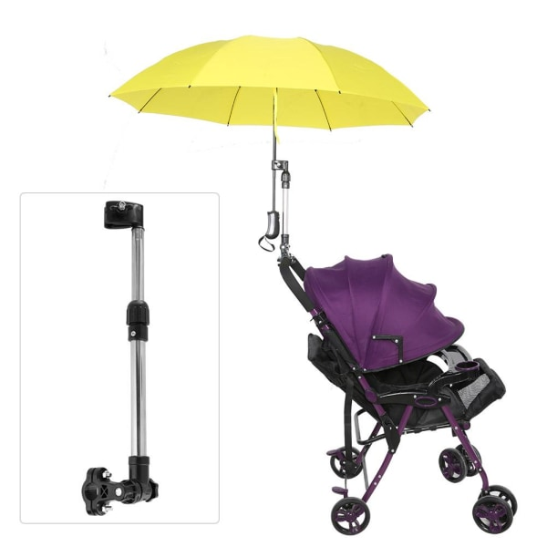 Stainless Steel Bicycle Baby Stroller MBC Umbrella Stand Pra