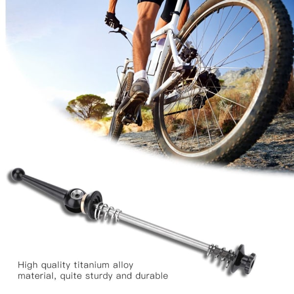 Titanium Alloy Bike Quick Release for Mountain Road Bicycle  74mm