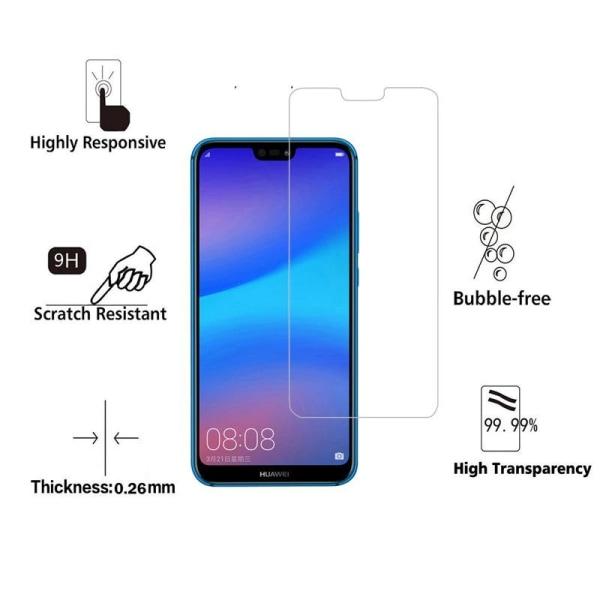 2-Pack Huawei P20 Pro Härdat glas /Skärmskydd