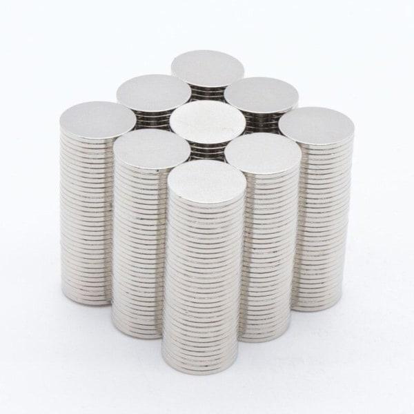 20 st Neodymmagneter / N35 magnet 12 mm x 1 mm / Starka Magneter Krom