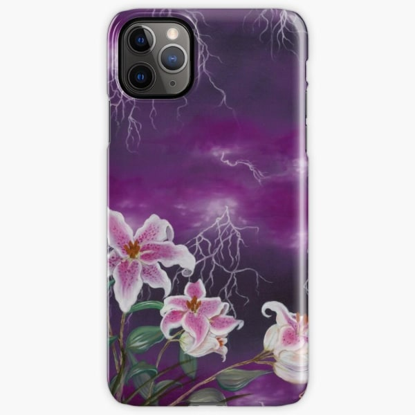 Skal till iPhone 11 Pro Max - Electric flower
