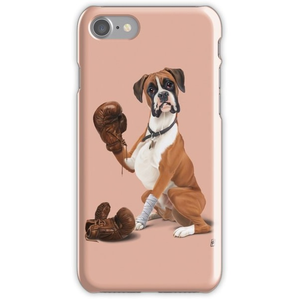 Skal till iPhone 6/6s Plus - Boxer Hund