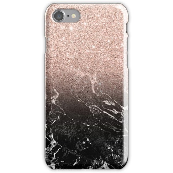 WEIZO Skal till iPhone 6/6s Plus - Rose gold black marble