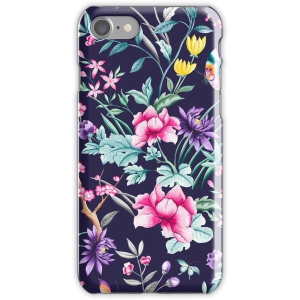WEIZO Skal till iPhone 8 - Blue Floral