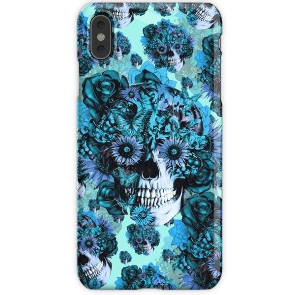 WEIZO Skal till iPhone Xr - SUNFLOWER skull