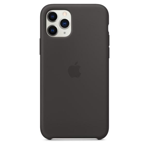 Apple Original iPhone 11 Pro Silikonskal Svart