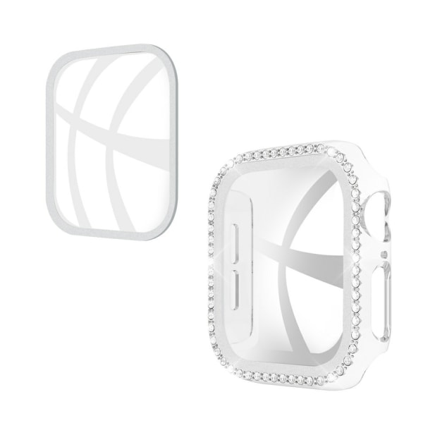 Apple Watch 42mm Skal och Skärmskydd Härdat Glas Transparent