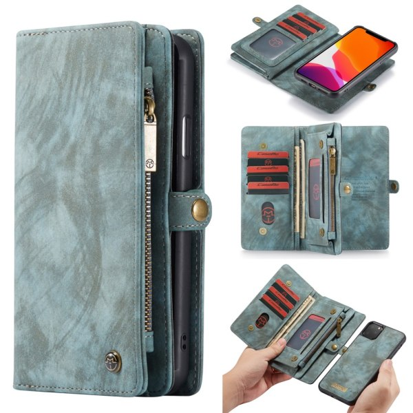 CaseMe Plånboksfodral Multi-Slot iPhone 11 Pro Max Blå