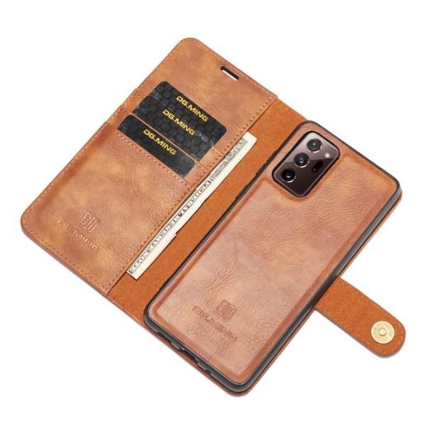 DG.MING Plånboksfodral Med Magnet Galaxy Note 20 Ultra Brun