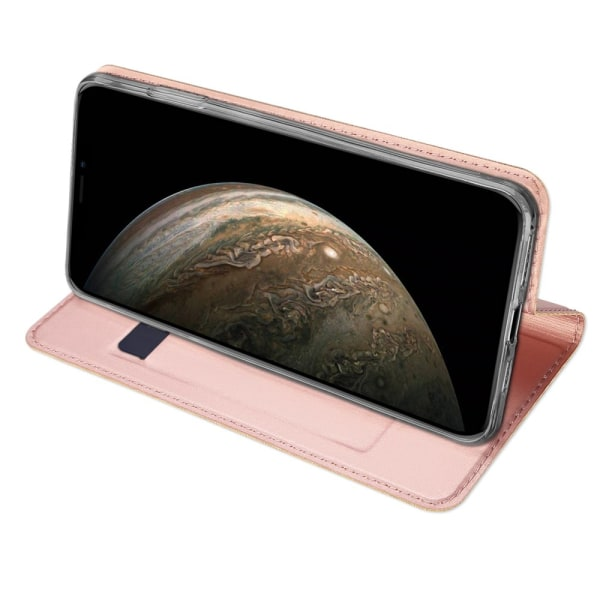 Dux Ducis Skin Pro Läderfodral iPhone 11 Pro Rosa