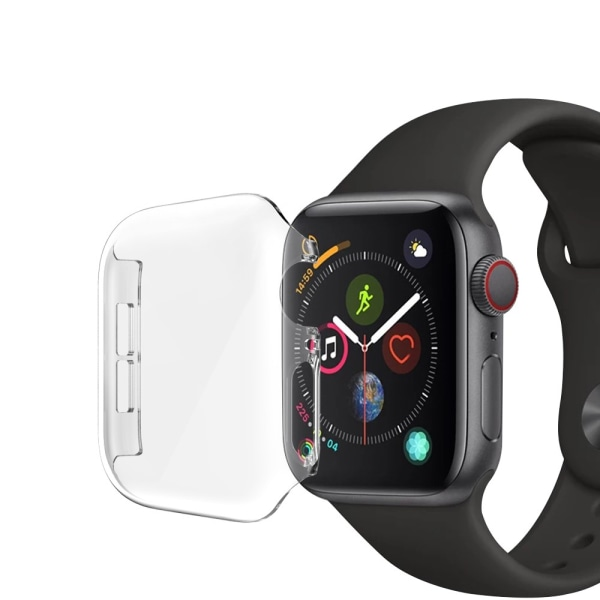 Heltäckande Skal Apple Watch 44mm Transparent