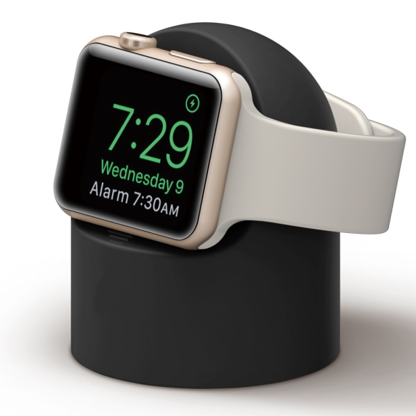 Laddningsställ Till Apple Watch Svart