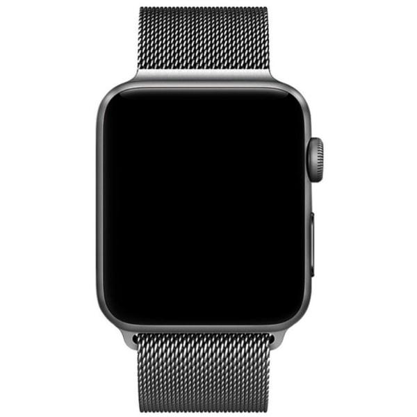 Milanese Loop Metallarmband Apple Watch 42/44mm Grå