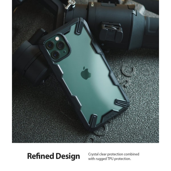 Ringke Fusion X Skal iPhone 11 Pro Max Svart