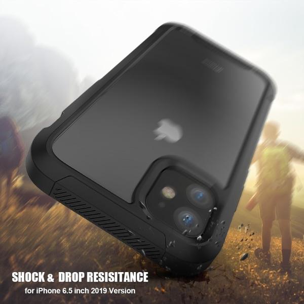 Stöttålig Edge Skal iPhone 11 Pro Max Svart