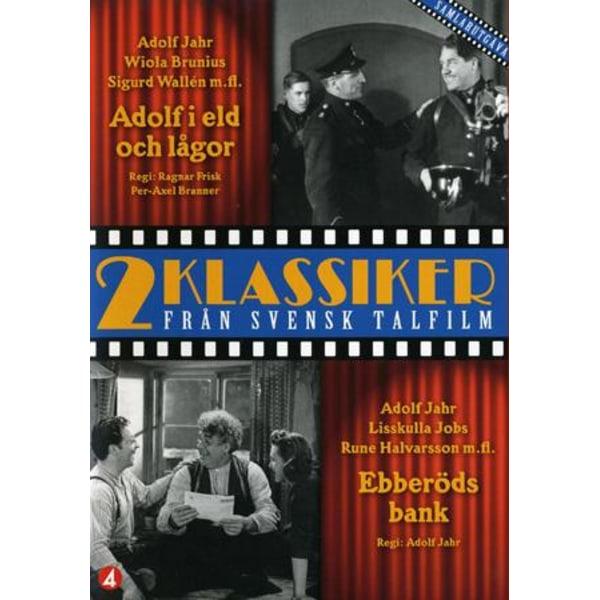 Ebberöds Bank - Adolf i lågor - DVD