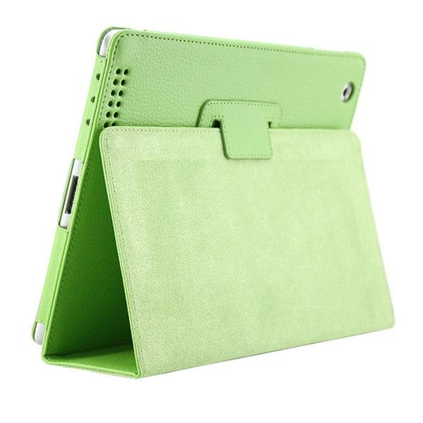 Alla modeller iPad skydd/fodral/skal - röd grön lila blå rosa Grön Ipad 2/3/4