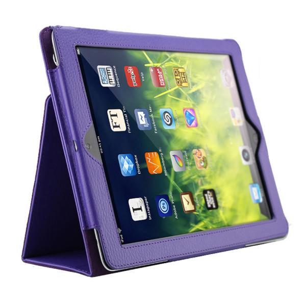 Alla modeller iPad skydd/fodral/skal - röd grön lila blå rosa Lila Ipad Pro 12.9 gen 3 2018