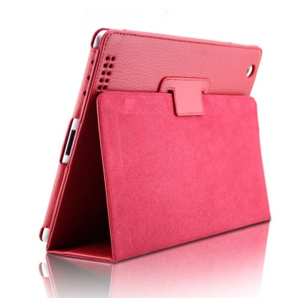 Alla modeller iPad skydd/fodral/skal - röd grön lila blå rosa Röd Ipad Mini 1/2/3