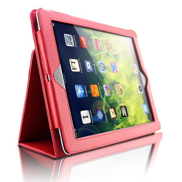 Alla modeller iPad skydd/fodral/skal - röd grön lila blå rosa Röd Ipad Air 1/2 & Ipad 9,7 Gen5/Gen6
