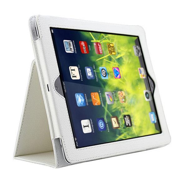 För alla modeller iPad fodral skal svart blå cerise vit brun - Vit Ipad Mini 4/5