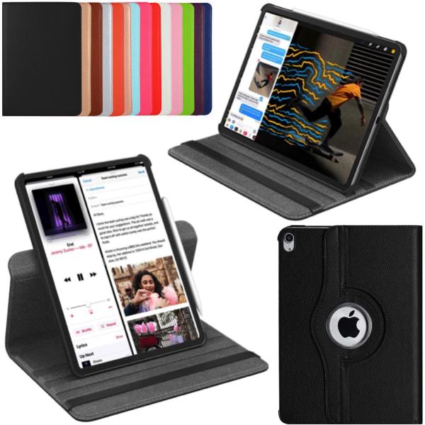 iPad Pro 11 2018 fodral skydd 360° rotation ställ skärmskydd   Svart Ipad Pro 11 gen1 2018