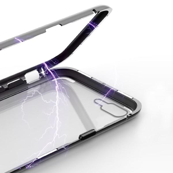 Qi ladda magnet skal skydd fodral iphone 7/7+/8/8+/X/XS/XSMax/XR Svart