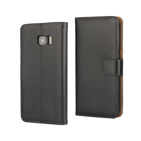 Samsung S7edge/S8/S8+/S9/S9+ plånbok skal fodral - Svart Samsung Galaxy S9