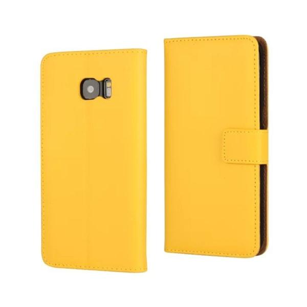 Samsung S9+/S10/S10+/S10e/S10lite plånbok skal fodral Gul Samsung Galaxy S10+