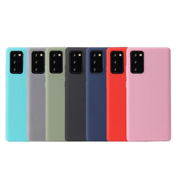 Silikon TPU skal Samsung Note 8/9/10/20 Ultra/Plus fodral grå - Grå Note10 Galaxy Samsung