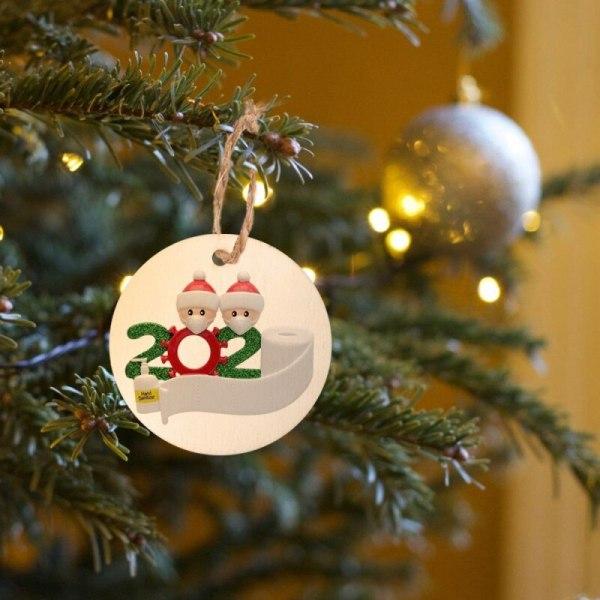 1 / 5PCS juldekor Personliga ornament Survivor Family