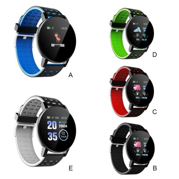 IP67 Waterproof Fitness Bracelet Sport Tracker Smart Watch D