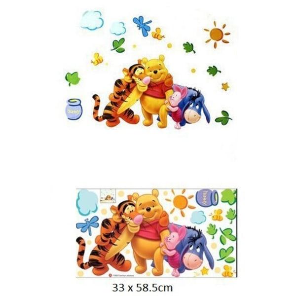 Söta Nalle Puh Väggdekor Wall stickers Wallie ( TC1068 )