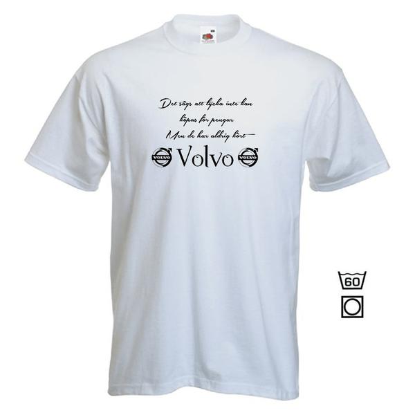 T-shirt - Det sägs att lycka...Volvo  S