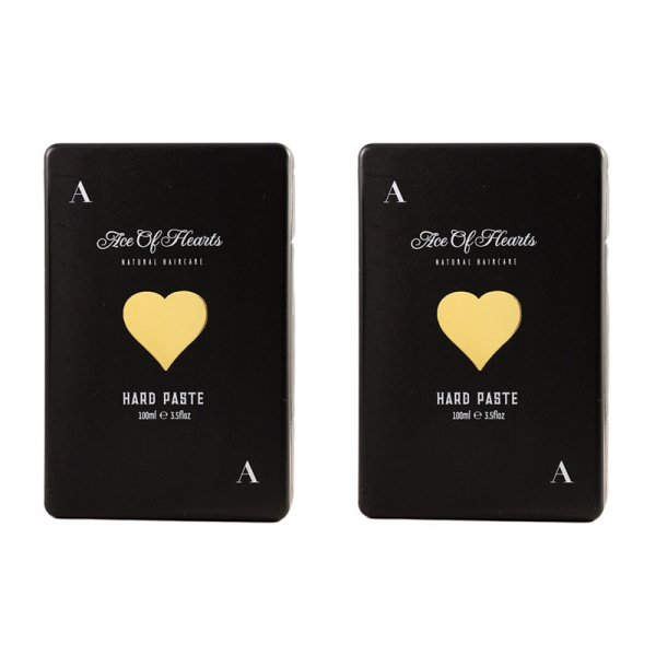 2-pack Ace of Hearts Hard Paste 100ml Svart