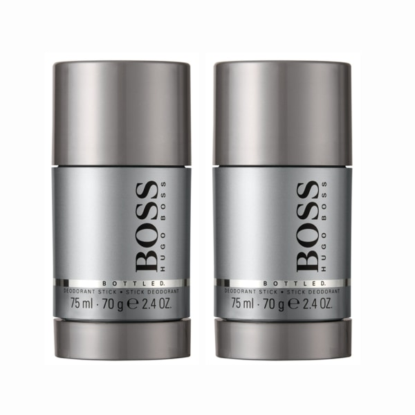 2-pack Hugo Boss Bottled Deostick 75ml Transparent