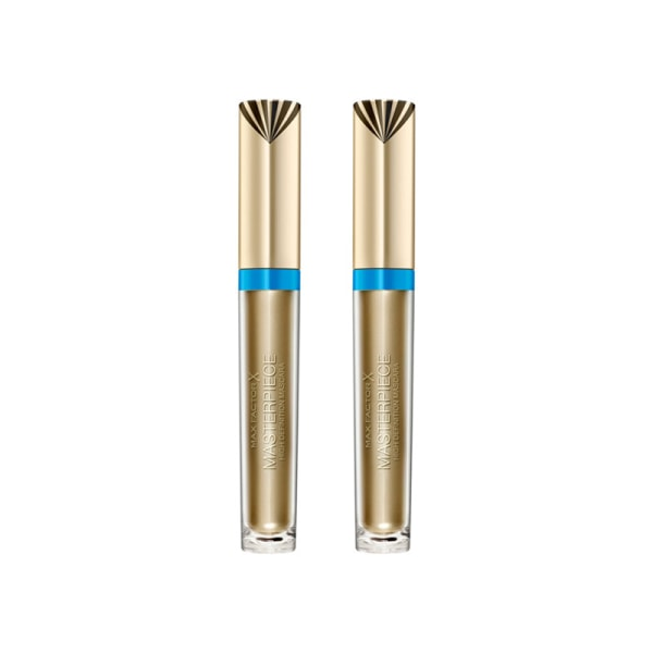 2-pack Max Factor Masterpiece Mascara Waterproof Black 4,5ml Guld