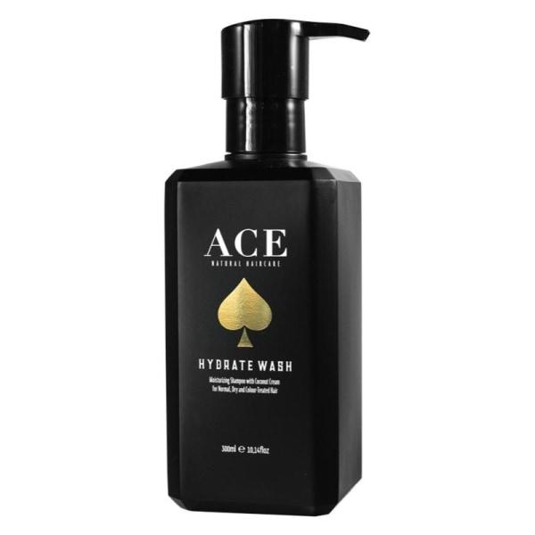 Ace Natural Haircare Hydrate Wash 300ml Svart