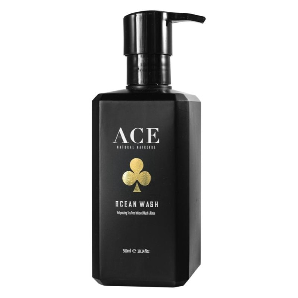 Ace Natural Haircare Ocean Wash 300ml Svart