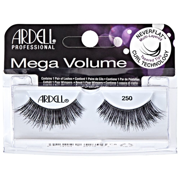 Ardell False Lashes Mega Volume 250 Black Svart