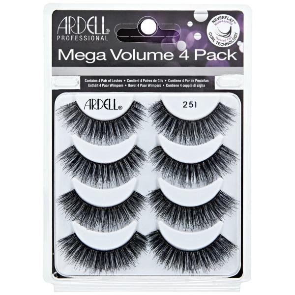 Ardell Mega Volume 4 Pack 251 Svart